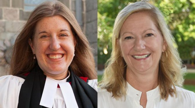 The Rev. Sara C. Ardrey-Graves and Julie Smith