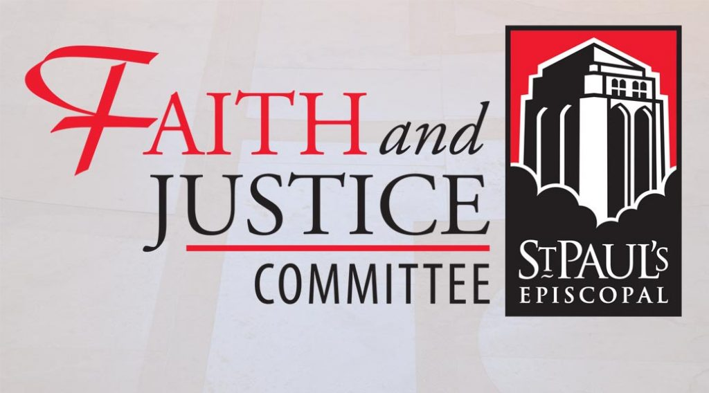Faith & Justice Committee logo