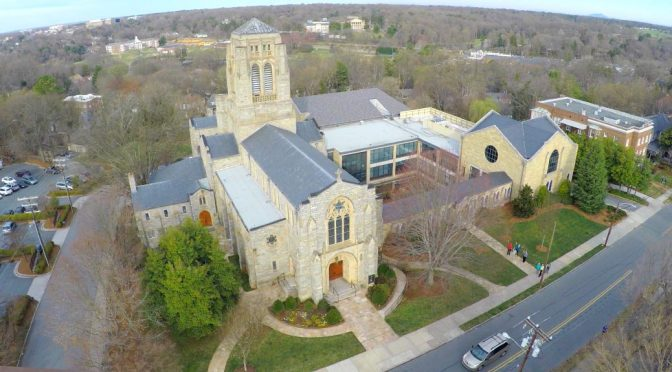 St. :Paul's Episcopal Church aerial photo