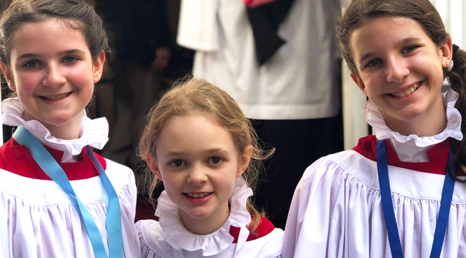 Sing with the St. Paul's Choristers