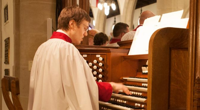 Dr. Alain Truche, Assistant Organist and Choirmaster