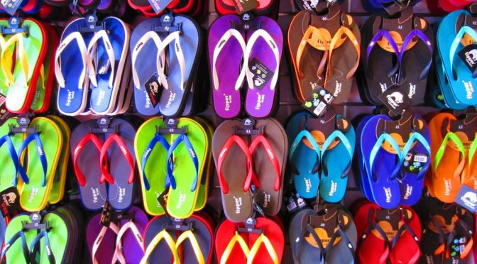 Flip Flops Needed for Mission Trips