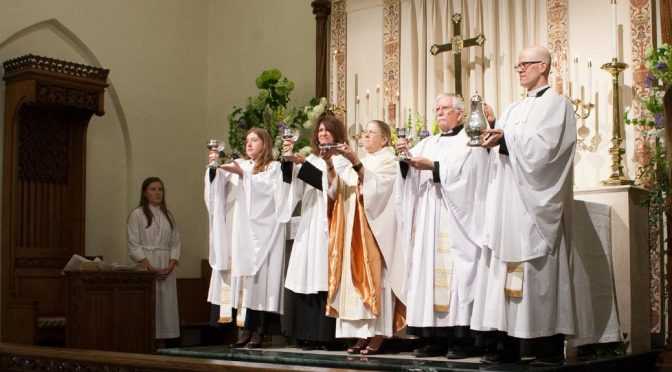 Interactive and Instructed Eucharist
