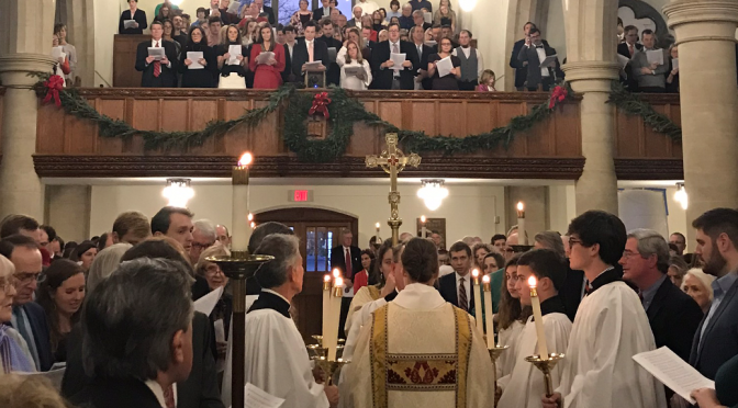Christmas Eve 2019; The Rev. D. Dixon Kinser